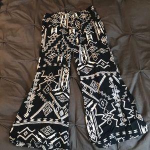 Billabong wide leg beach pants sz S